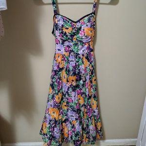Candie's Juniors Multicolor Floral Dress